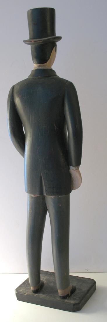Montgomery Ward Folk Art Display Carving - 4