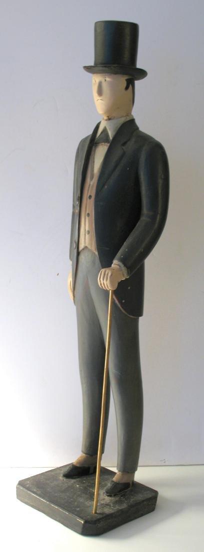 Montgomery Ward Folk Art Display Carving - 5