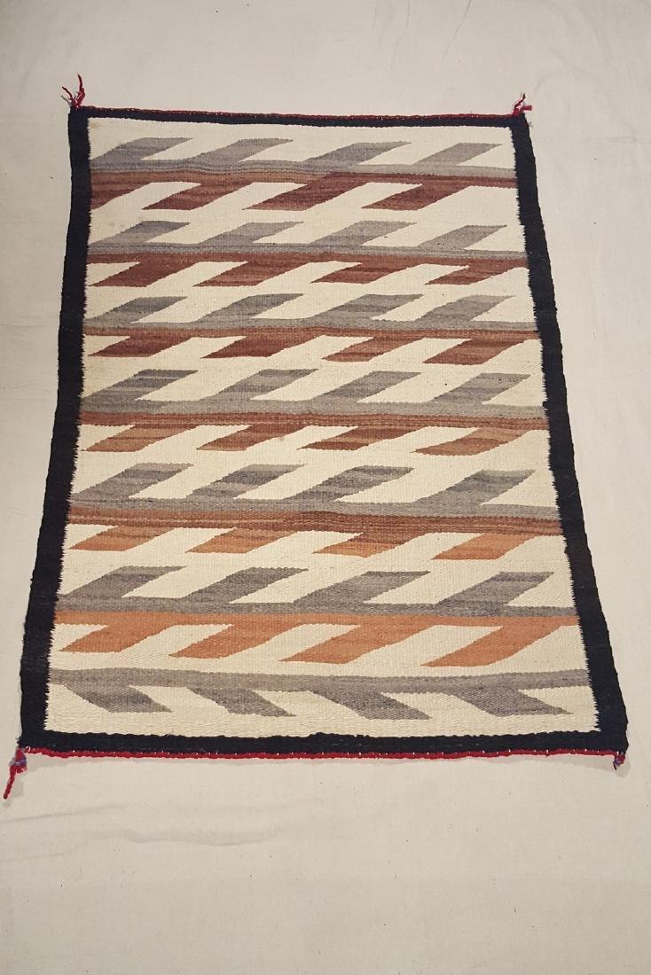Navajo Saddle Blanket/rug Ca 1940's