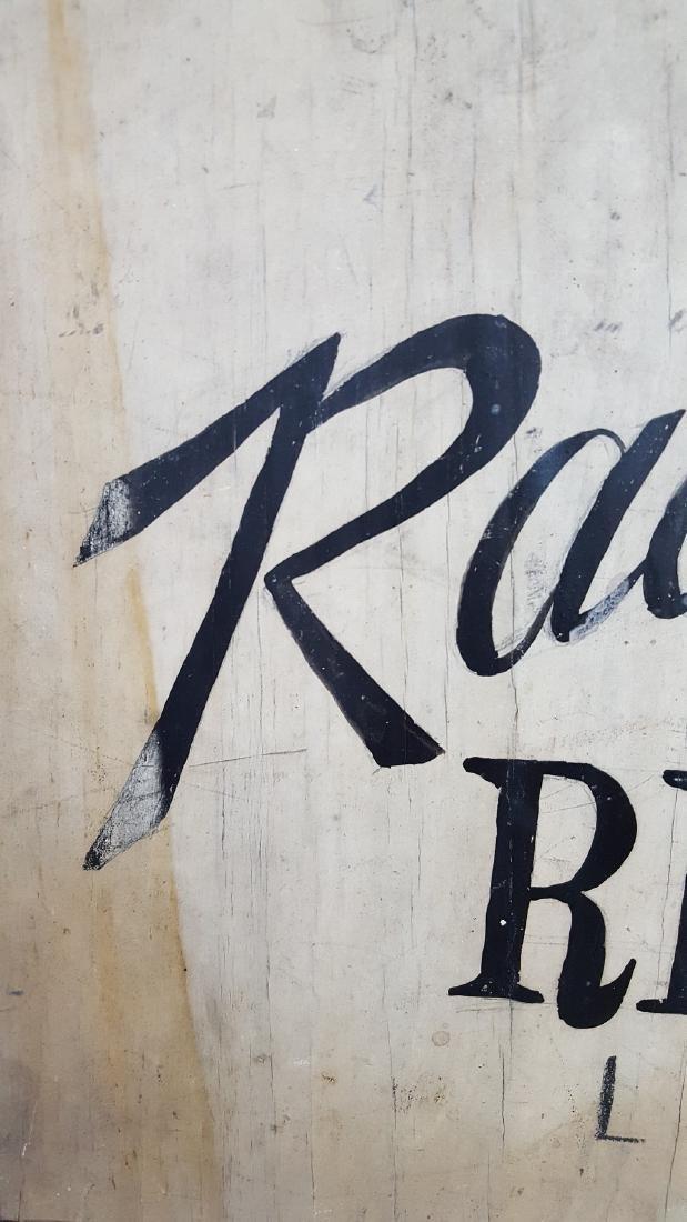 Radios Repaired Sign Ca 1930-1950 - 2