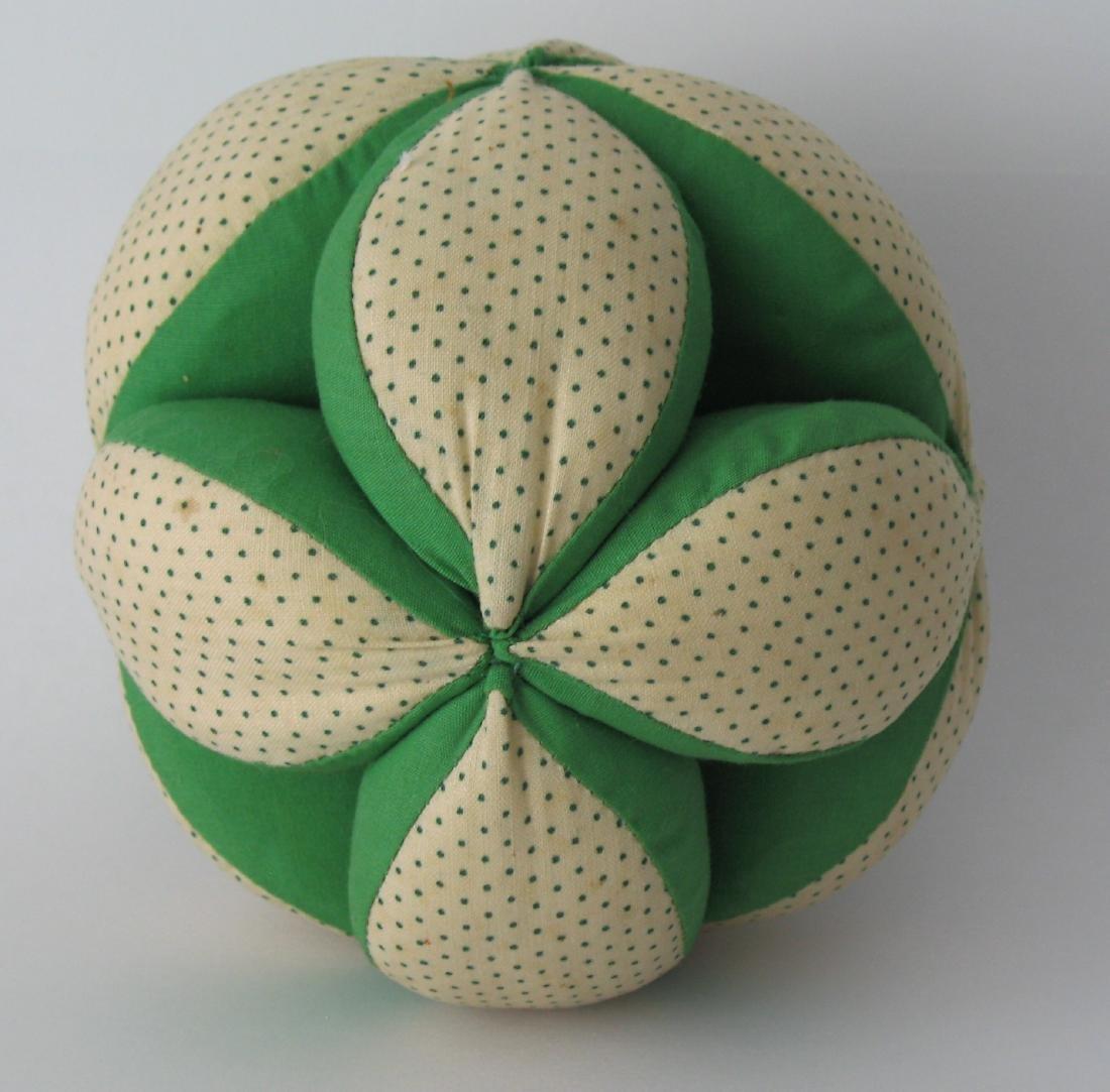 Vintage Pennsylvania Folk Art Puzzle Ball