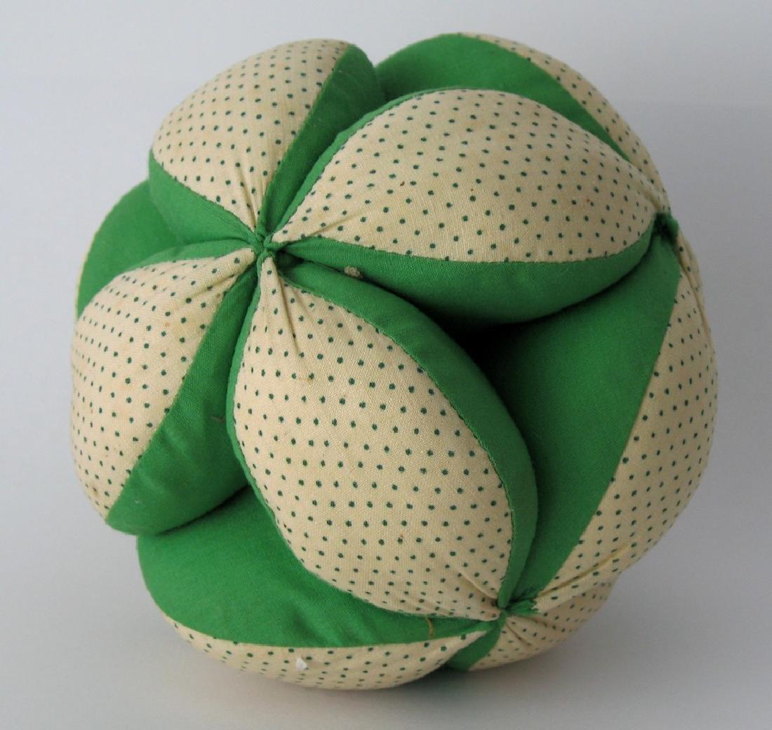 Vintage Pennsylvania Folk Art Puzzle Ball - 2