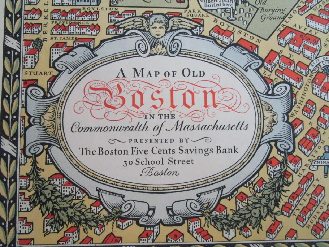 A Map of old Boston - 3