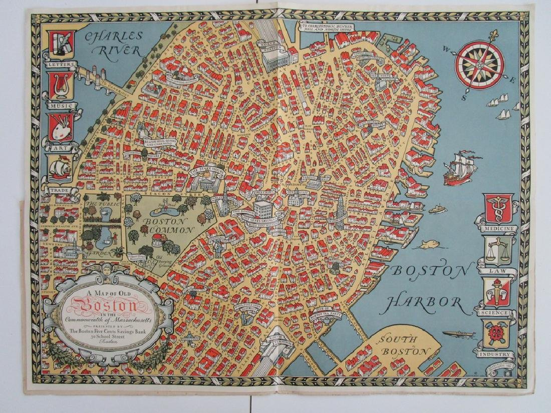A Map of old Boston - 5