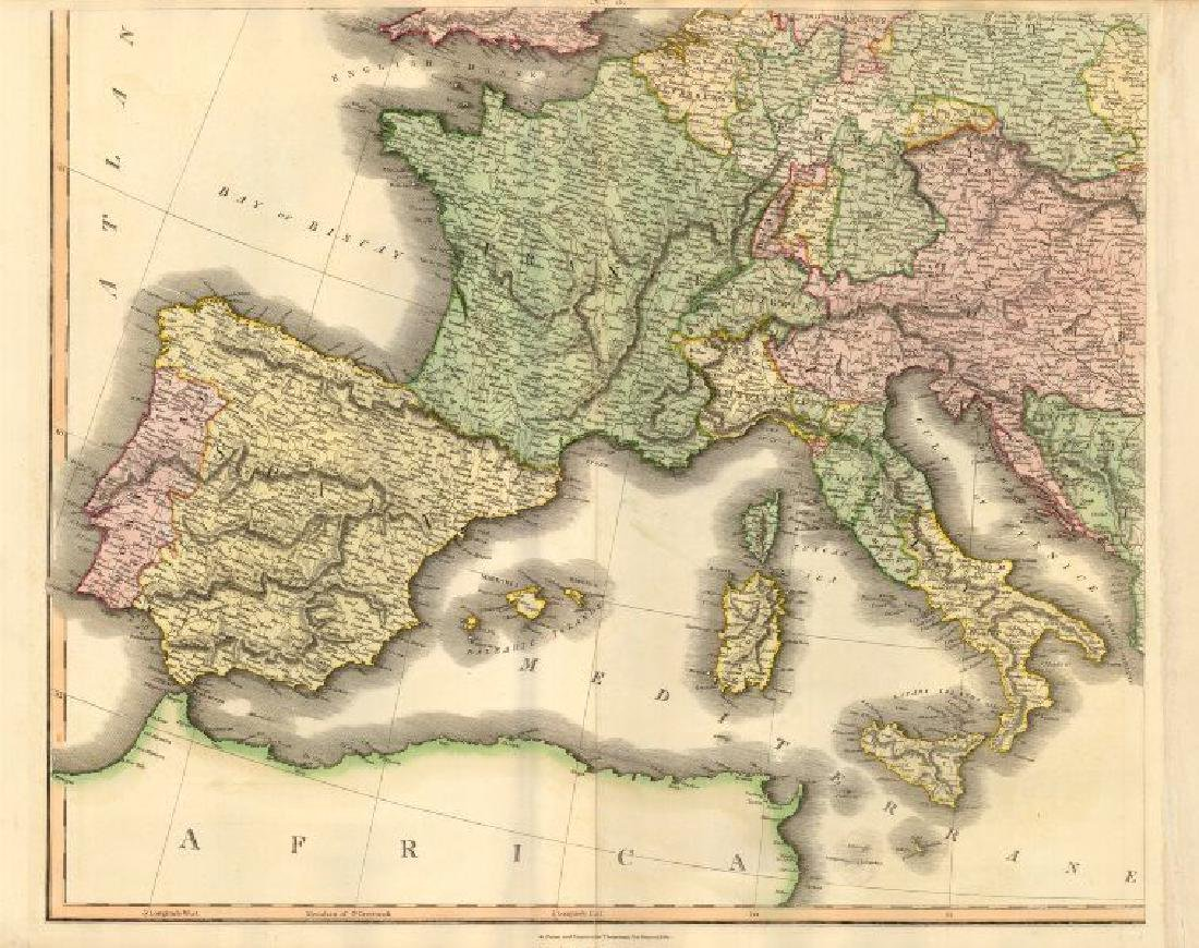 South-west Europe. Swiss Savoy. British Hanover.