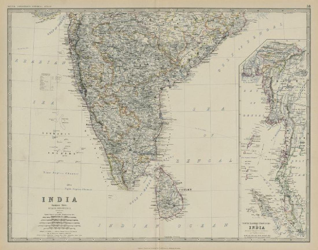 South India Ceylon Burma Straits Settlements Singapore