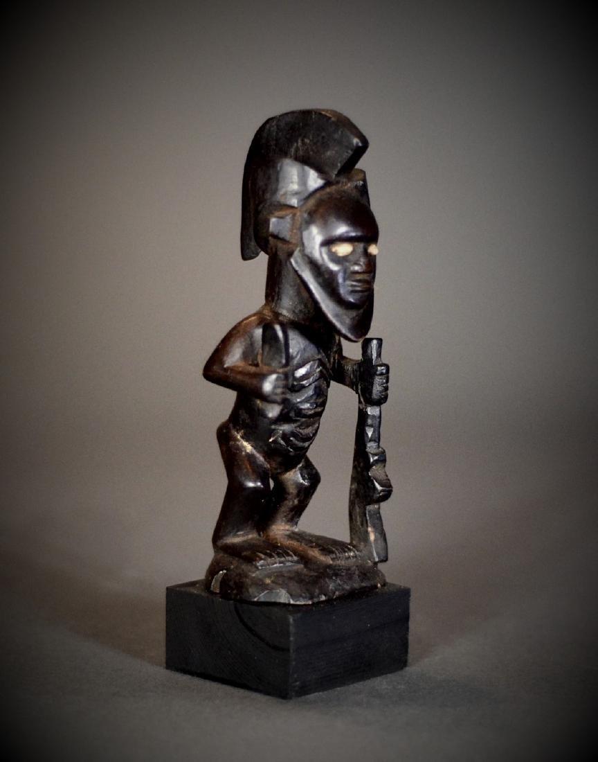 African Tribal Bembe Babembe Gunmen Figure DRC