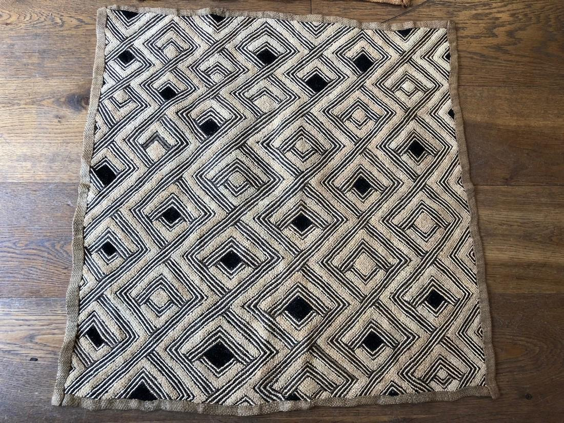Lot of Two Shoowa Traditional Textiles in Fibers - 3