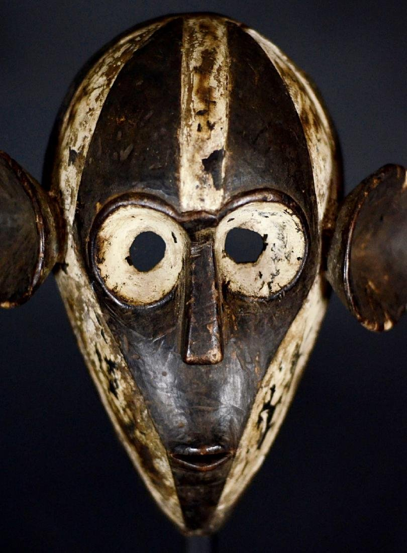 Unusual African Tribal Boa Pongdudu Mask