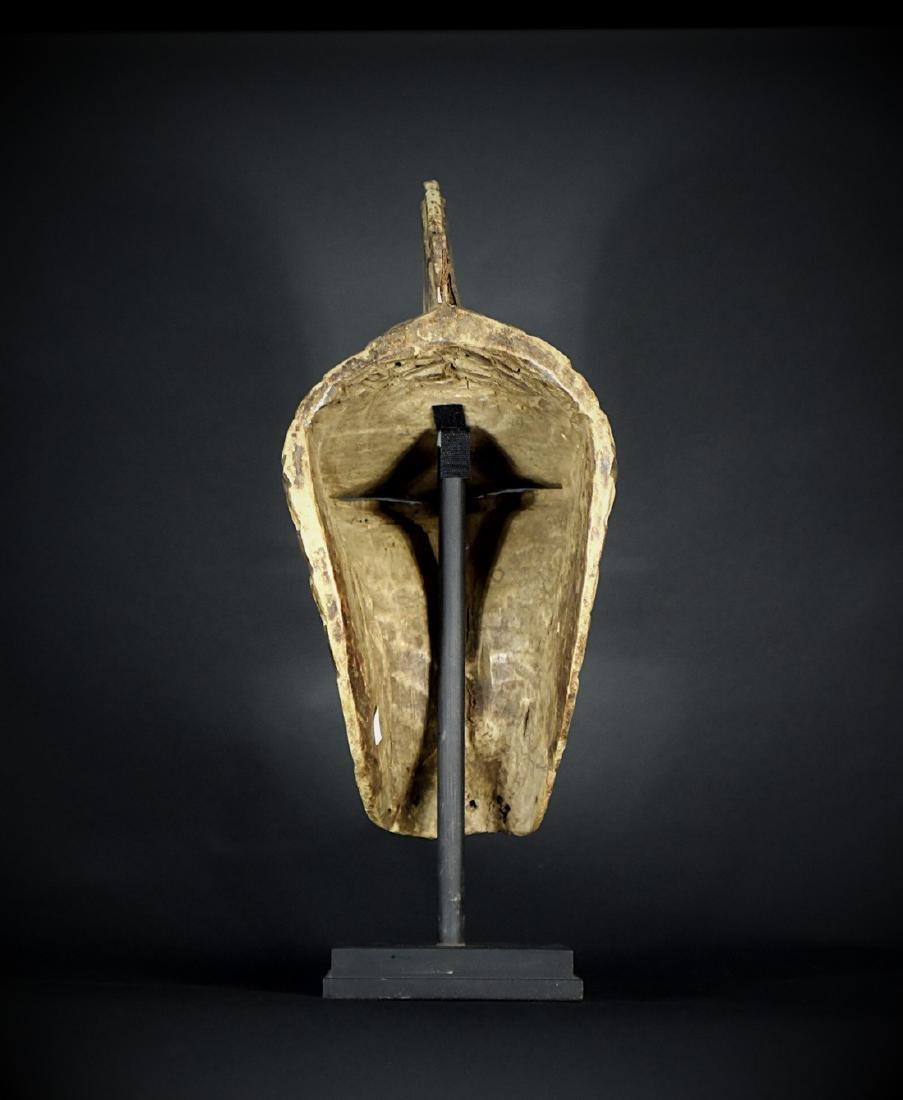 African Tribal Songye Kifwebe War Mask - 11