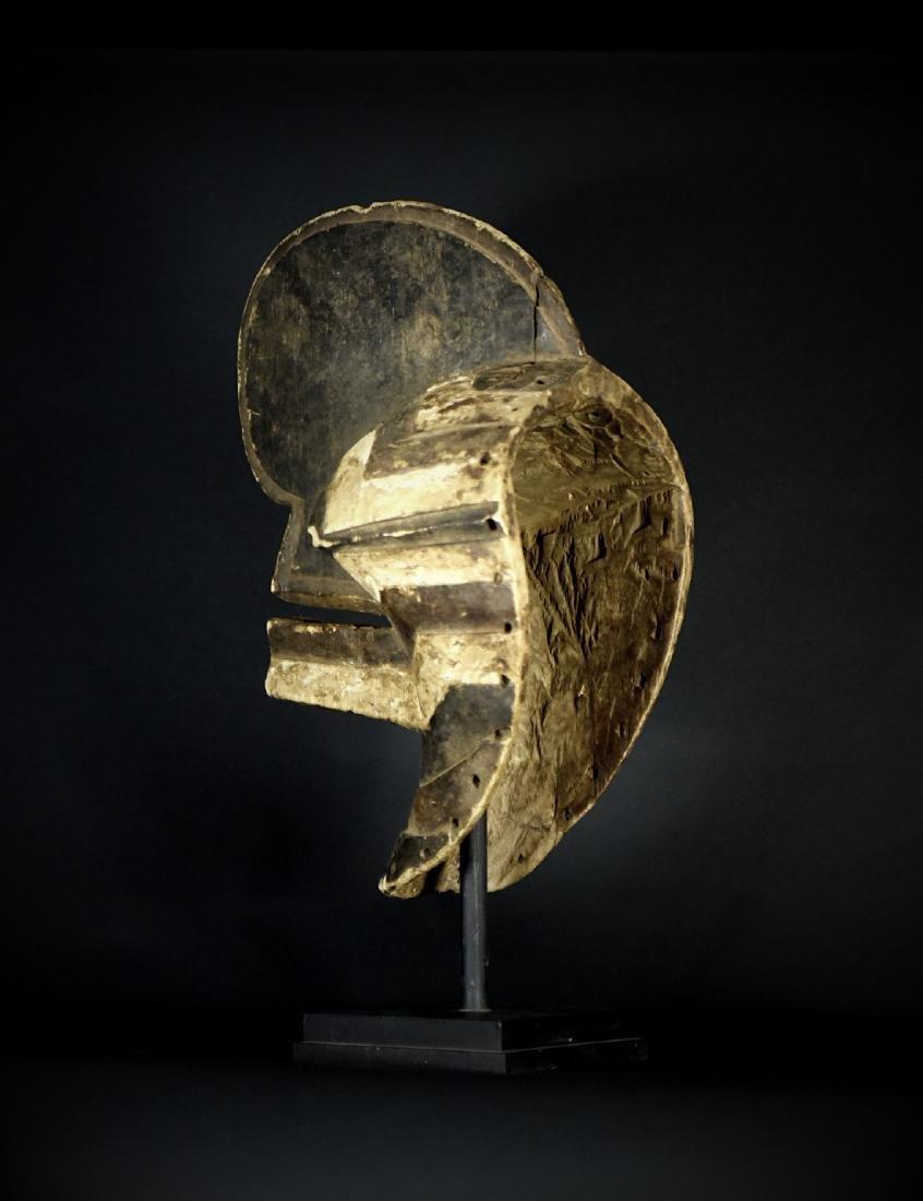 African Tribal Songye Kifwebe War Mask - 12