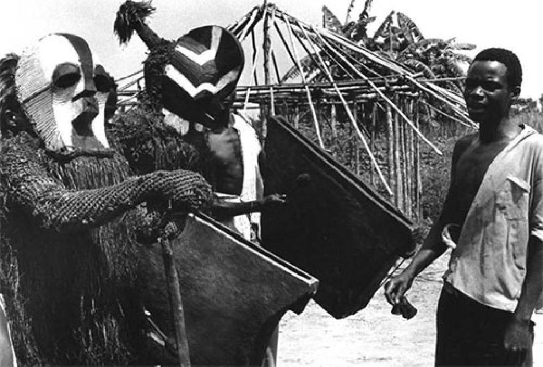 African Tribal Songye Kifwebe War Mask - 18