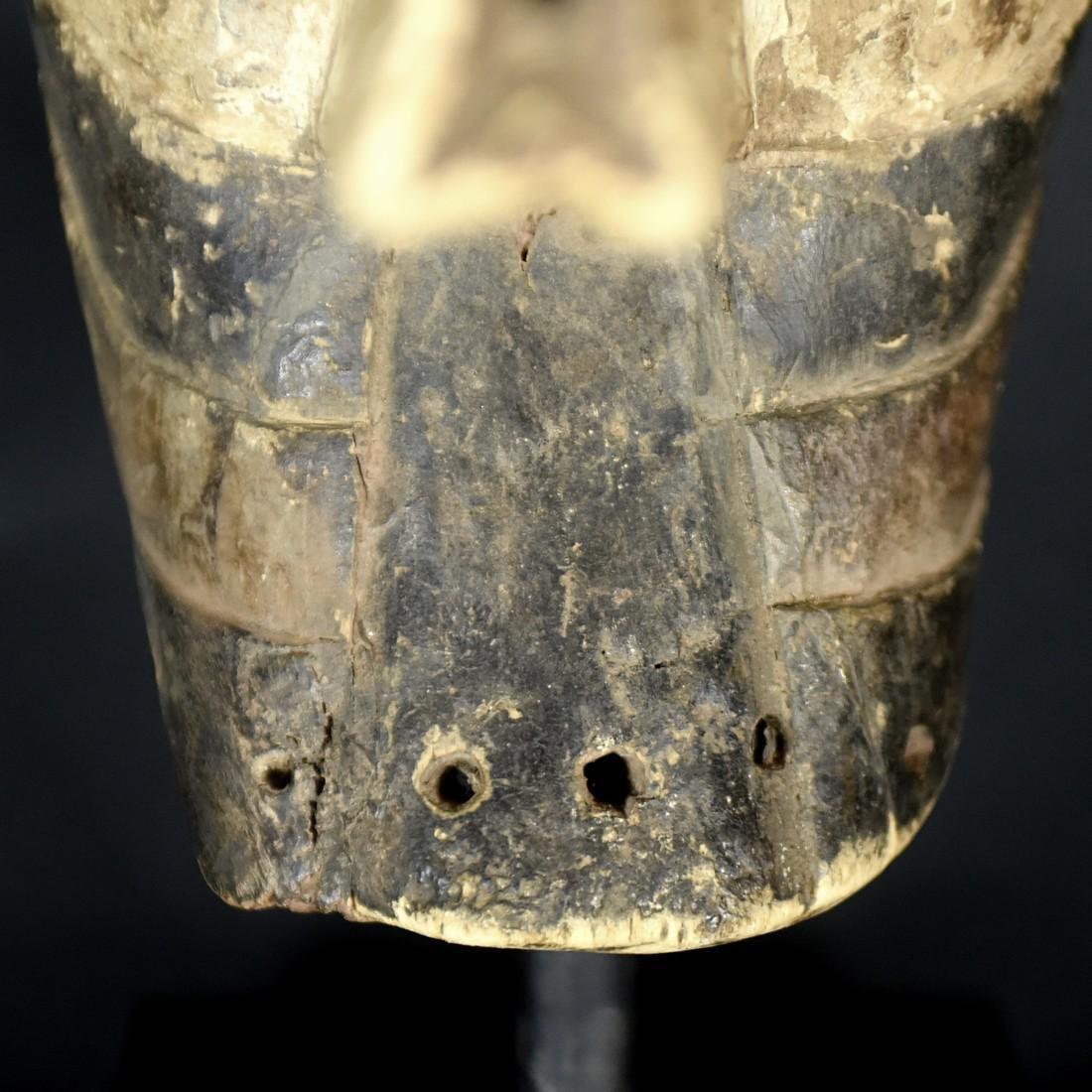African Tribal Songye Kifwebe War Mask - 4
