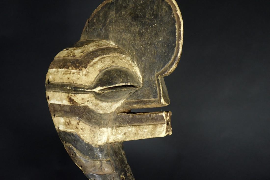 African Tribal Songye Kifwebe War Mask - 5