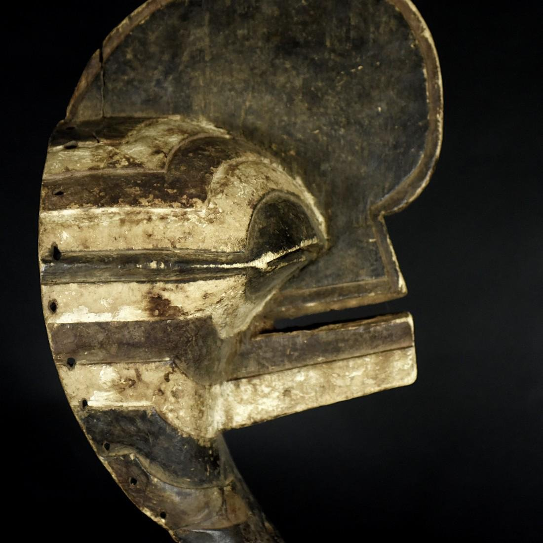 African Tribal Songye Kifwebe War Mask - 6