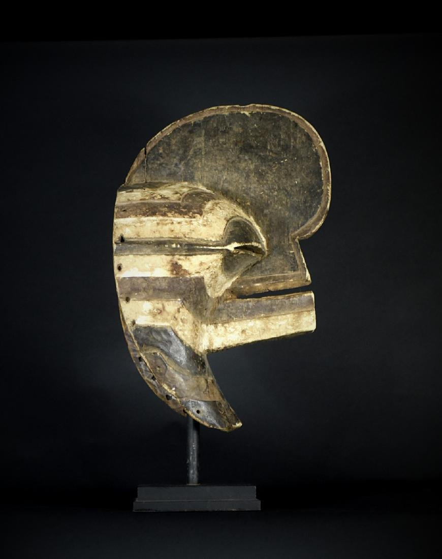 African Tribal Songye Kifwebe War Mask - 8
