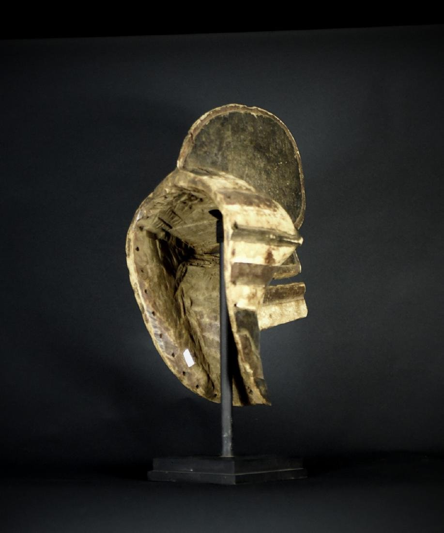 African Tribal Songye Kifwebe War Mask - 9