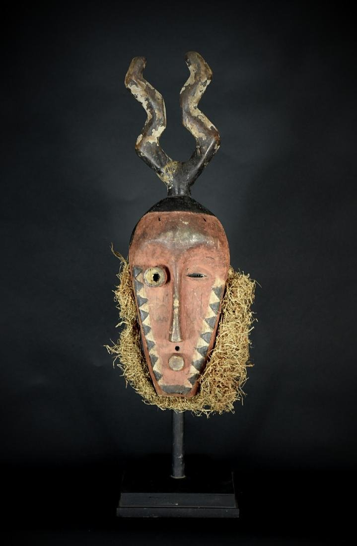 African Tribal Pende Mbambi Mask