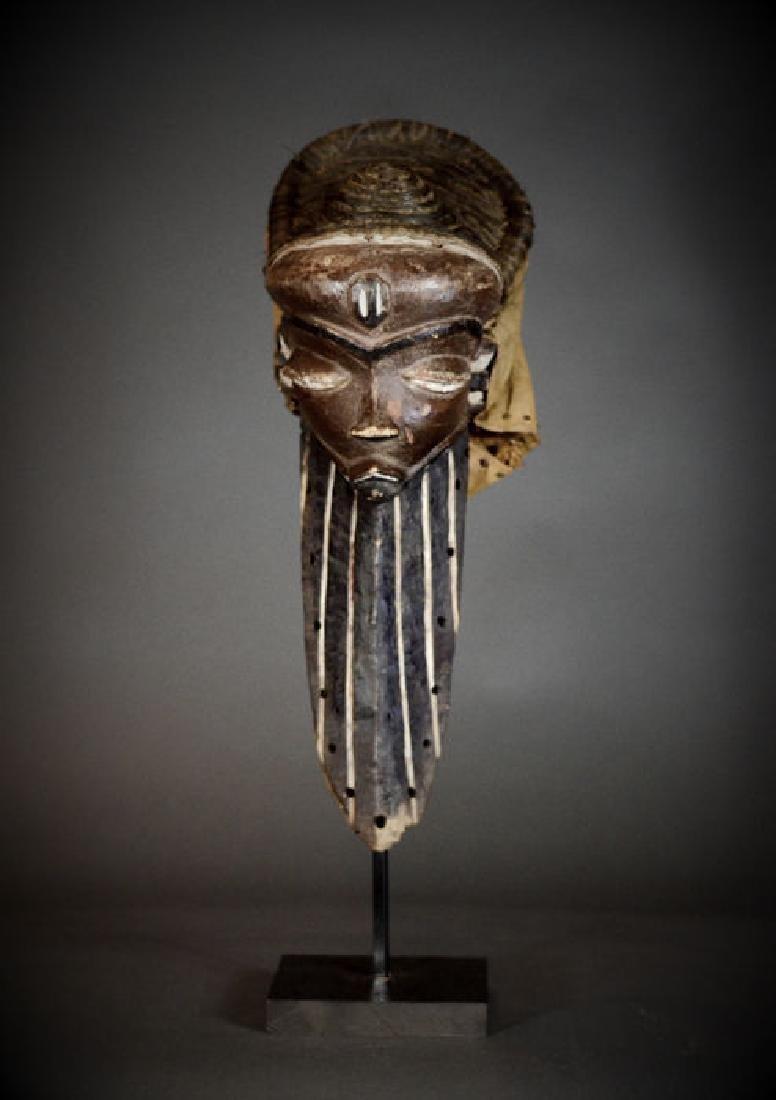 """Pende """"Long Bearded"""" Mask Mbuya Kiwoyo Muyombo"""