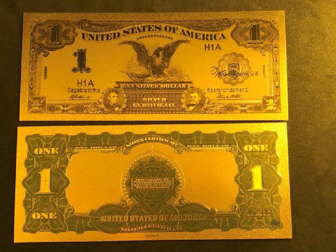 Collection Set 1899 1.00 Black Eagle Silver Certificate - 2