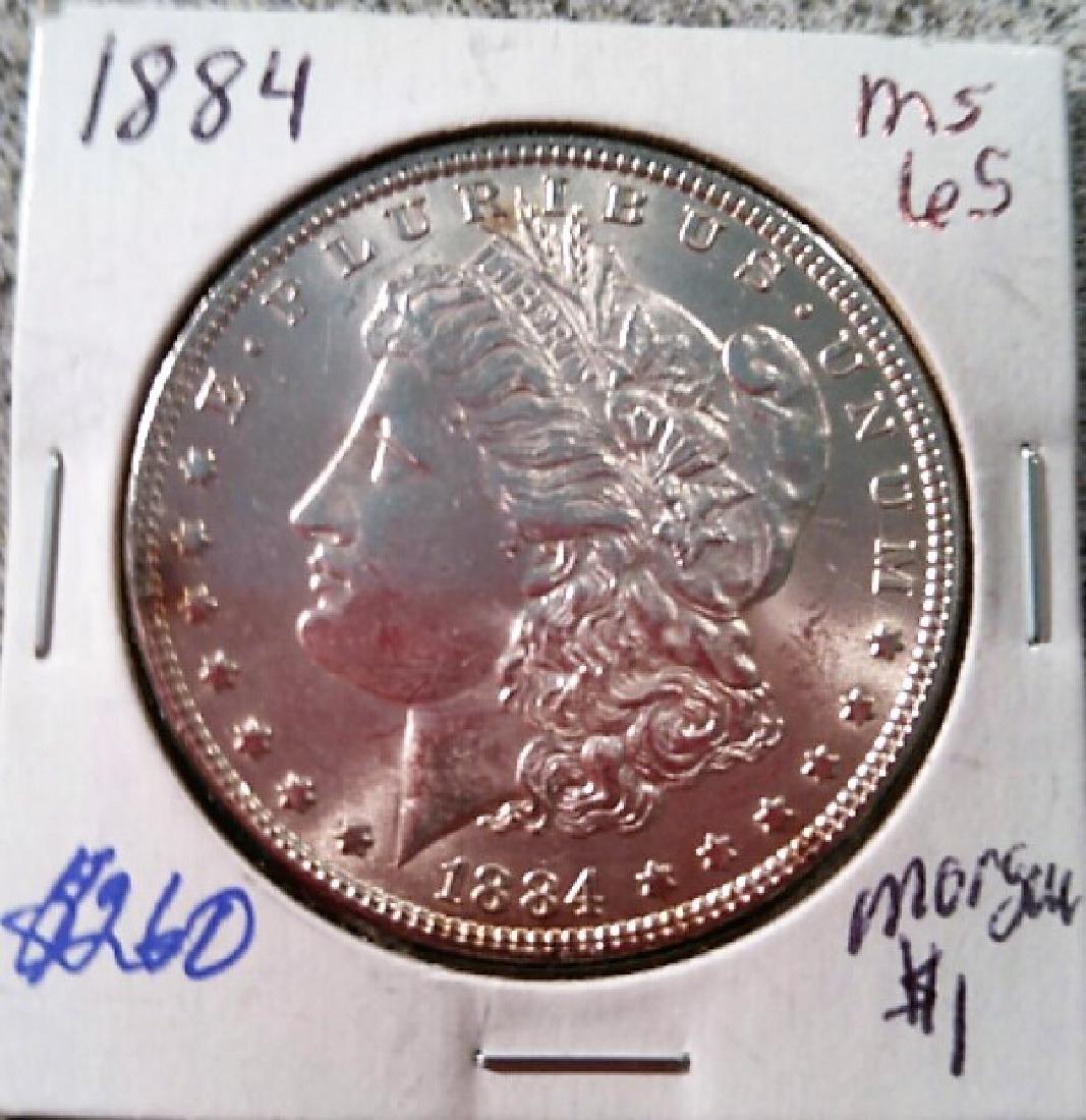 Morgan Dollar 1884