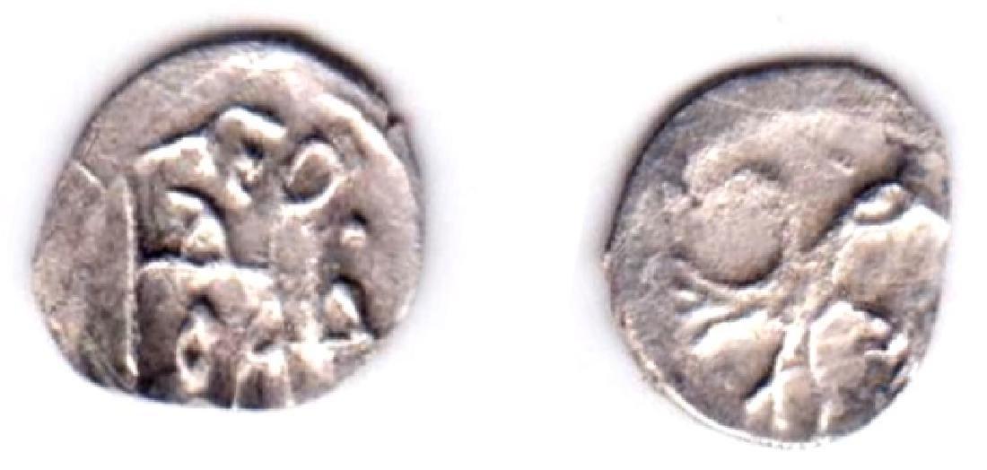 Moscow. Ivan IV. 1533-84. Silver Polushka Coin