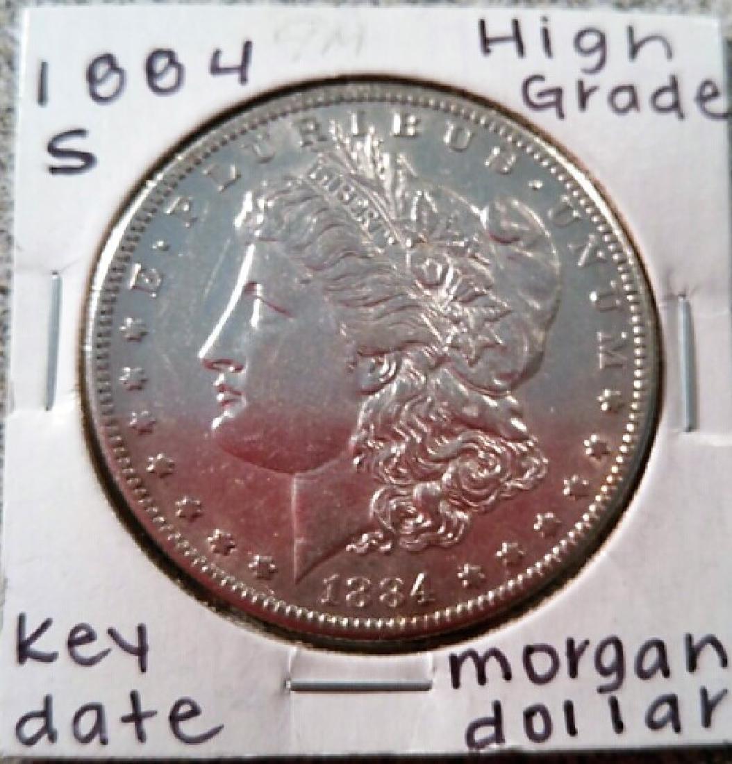Morgan Dollar 1884S