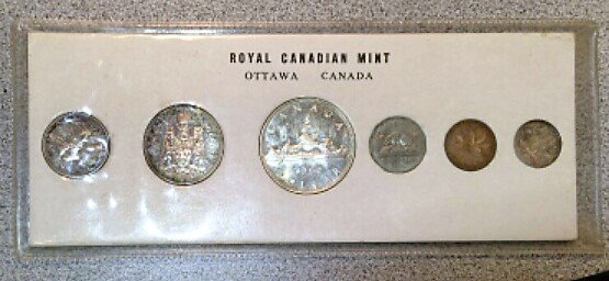 1960 Canadian Mint Set