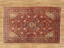 Vintage Persian Kashan Rug 4.4x7