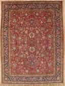 Vintage Persian Kashan Rug 10.9x14.7