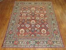 Antique Persian Sultanabad Mahal Rug 7.5x10.2