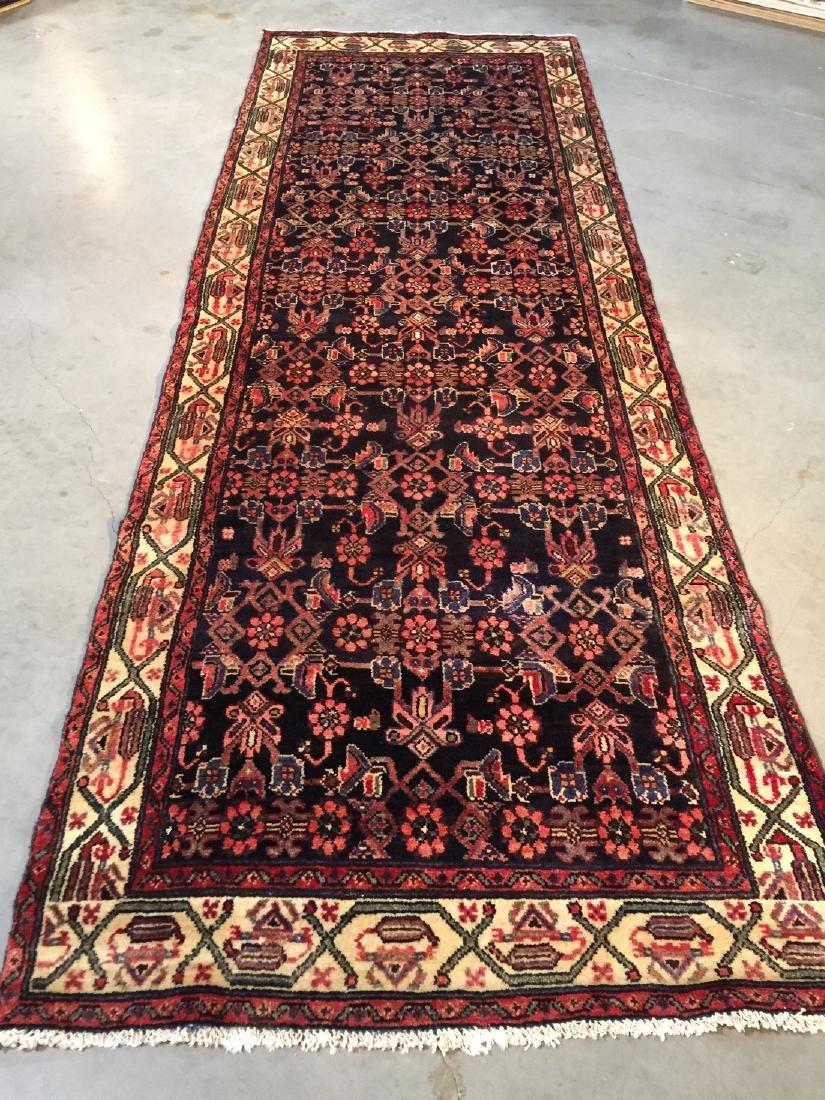 Gallery Persian Hamedan Runner Rug 3.4x10.2