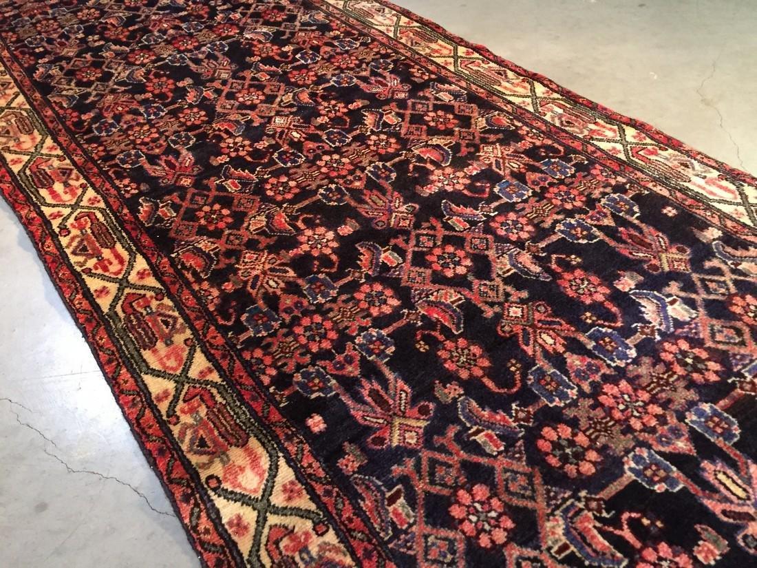 Gallery Persian Hamedan Runner Rug 3.4x10.2 - 2
