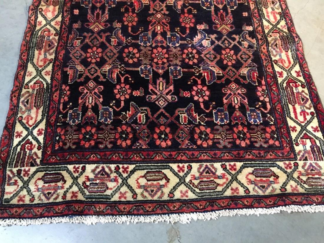 Gallery Persian Hamedan Runner Rug 3.4x10.2 - 3
