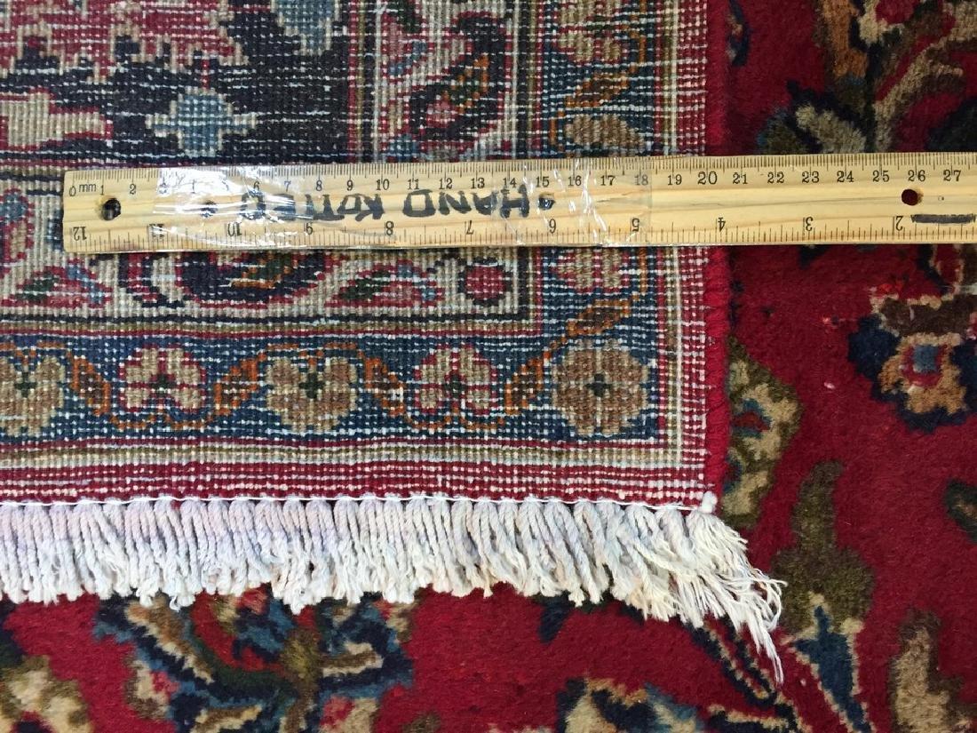 Authentic Persian Mashad Rug 9.9x12.1 - 2