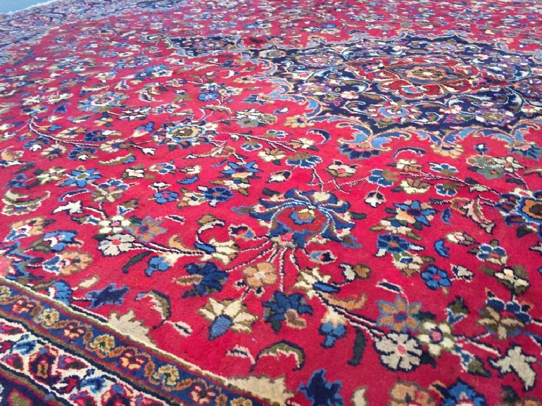 Authentic Persian Mashad Rug 9.9x12.1 - 3