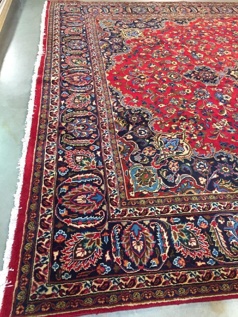 Authentic Persian Mashad Rug 9.9x12.1 - 6