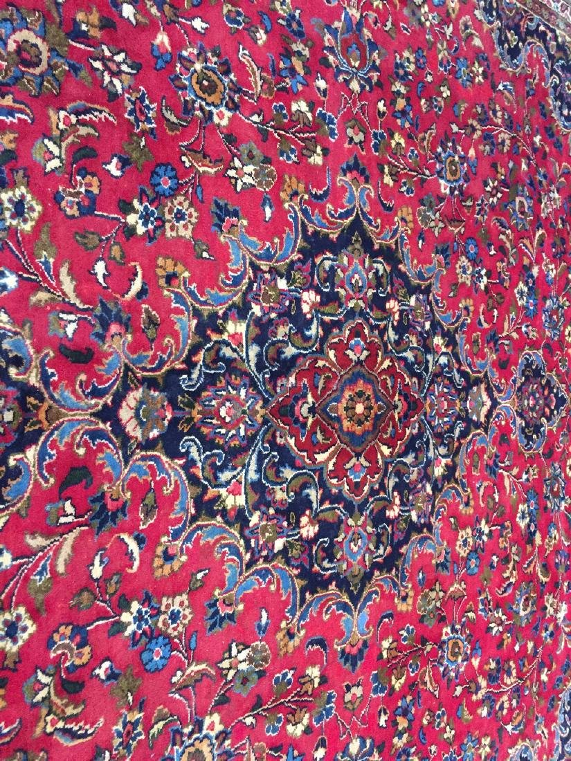 Authentic Persian Mashad Rug 9.9x12.1 - 8