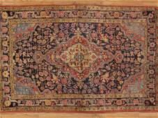 Antique Persian Sarouk Rug 3.6x5.5