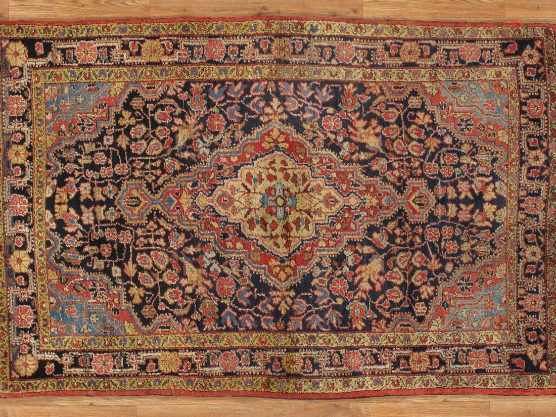 Antique Persian Sarouk Rug 3.6x5.5