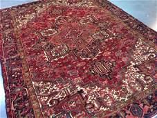 Authentic Persian Heriz Rug 7.10x10.10