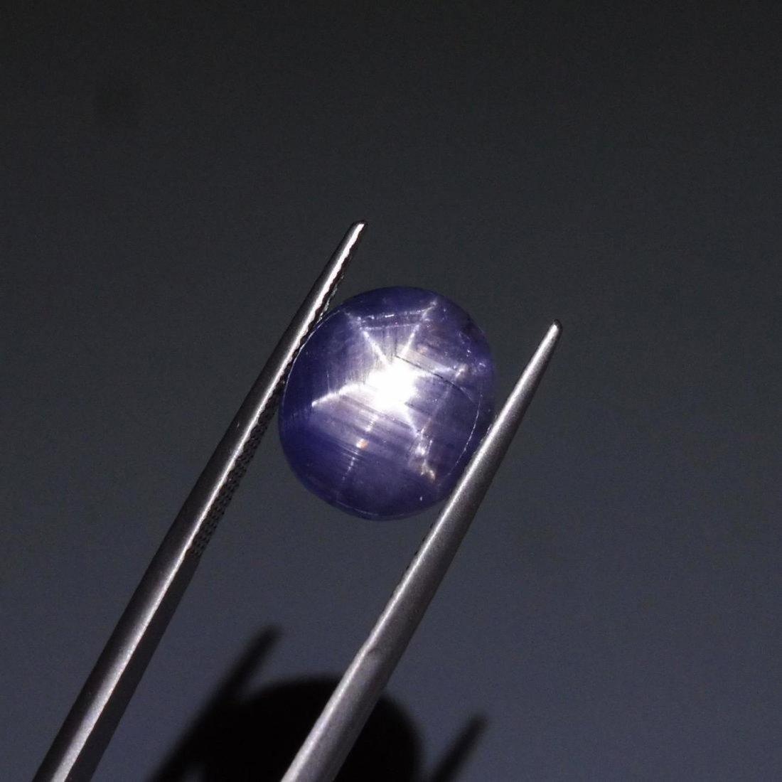 6.58 ct Oval Star Sapphire