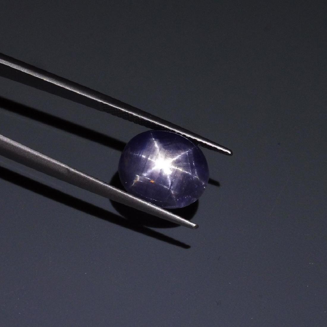 6.58 ct Oval Star Sapphire - 8