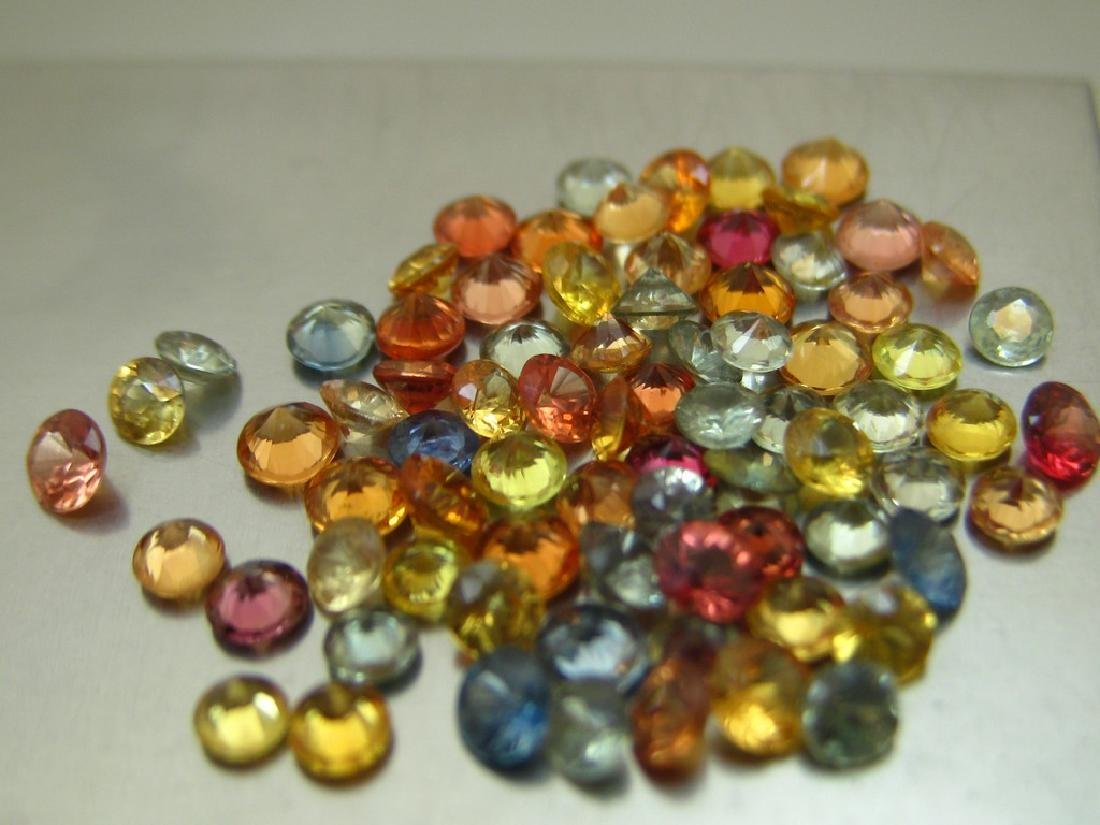 Lot Of Sapphires 54pc total weight 5.88ct