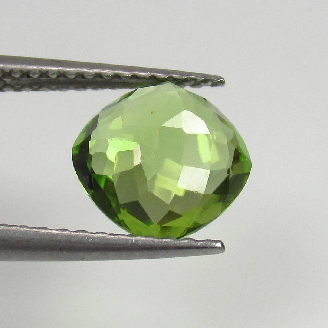 1.71 Ctw Natural Loose Cushion cut Top Luster Peridot - 2