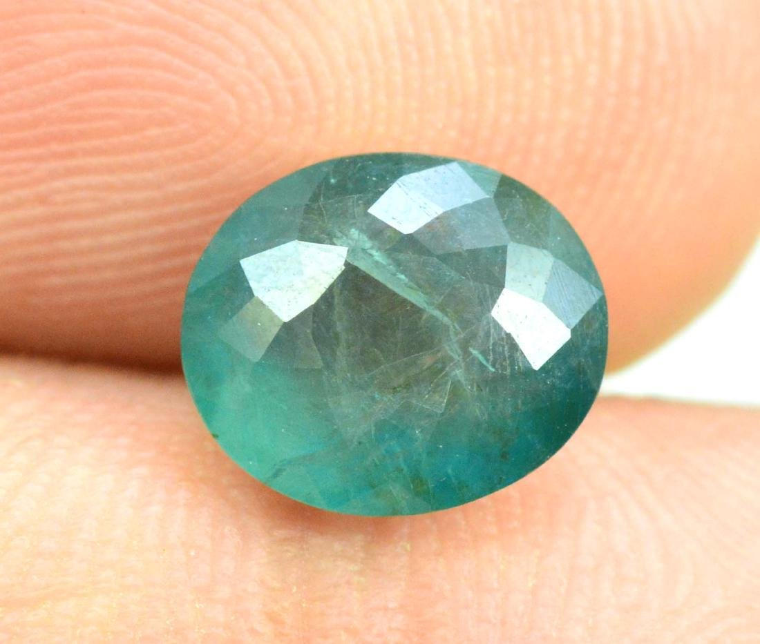 1.70 carats Grandidierite loose gemstone - 4