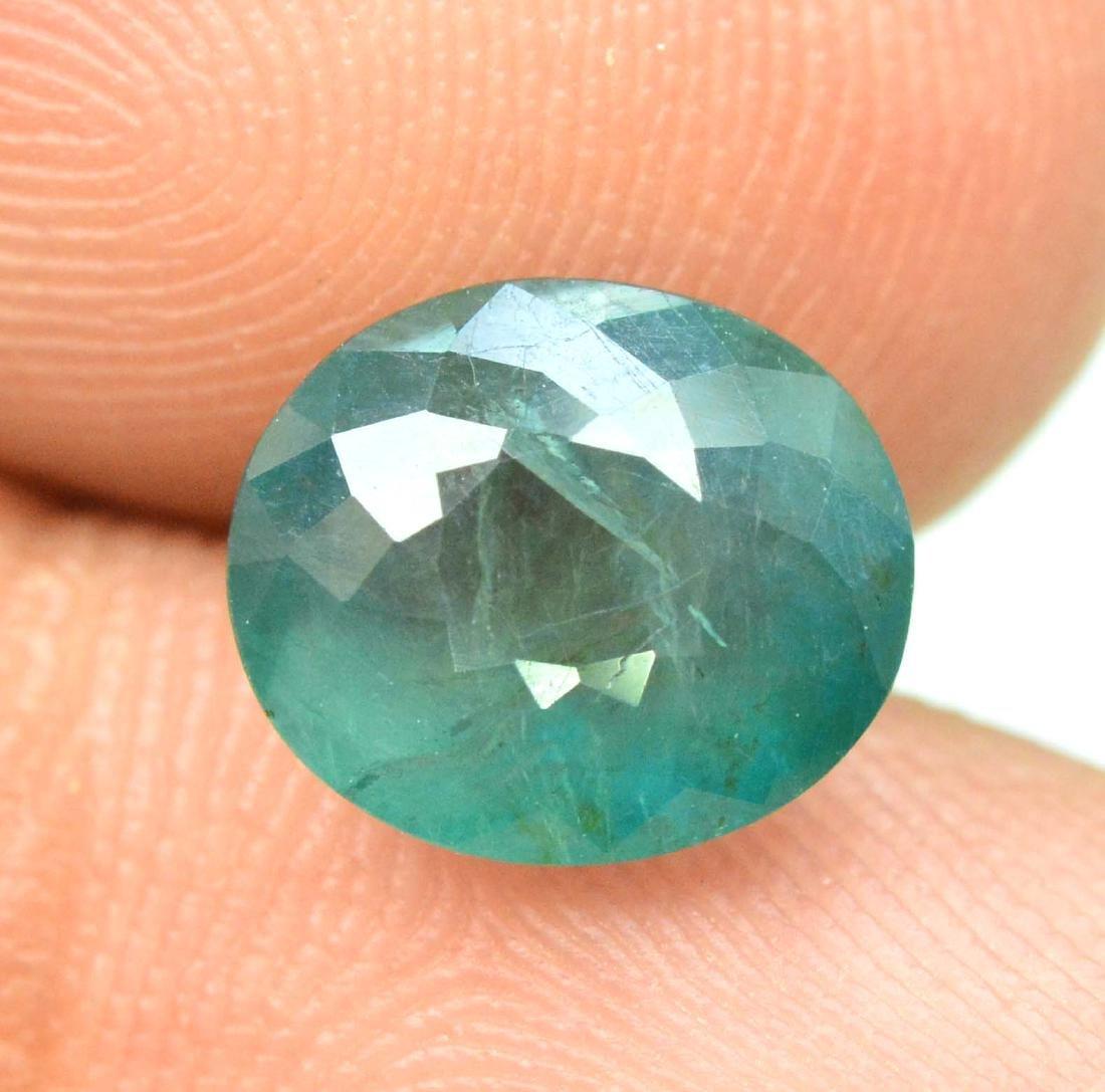 1.70 carats Grandidierite loose gemstone - 5
