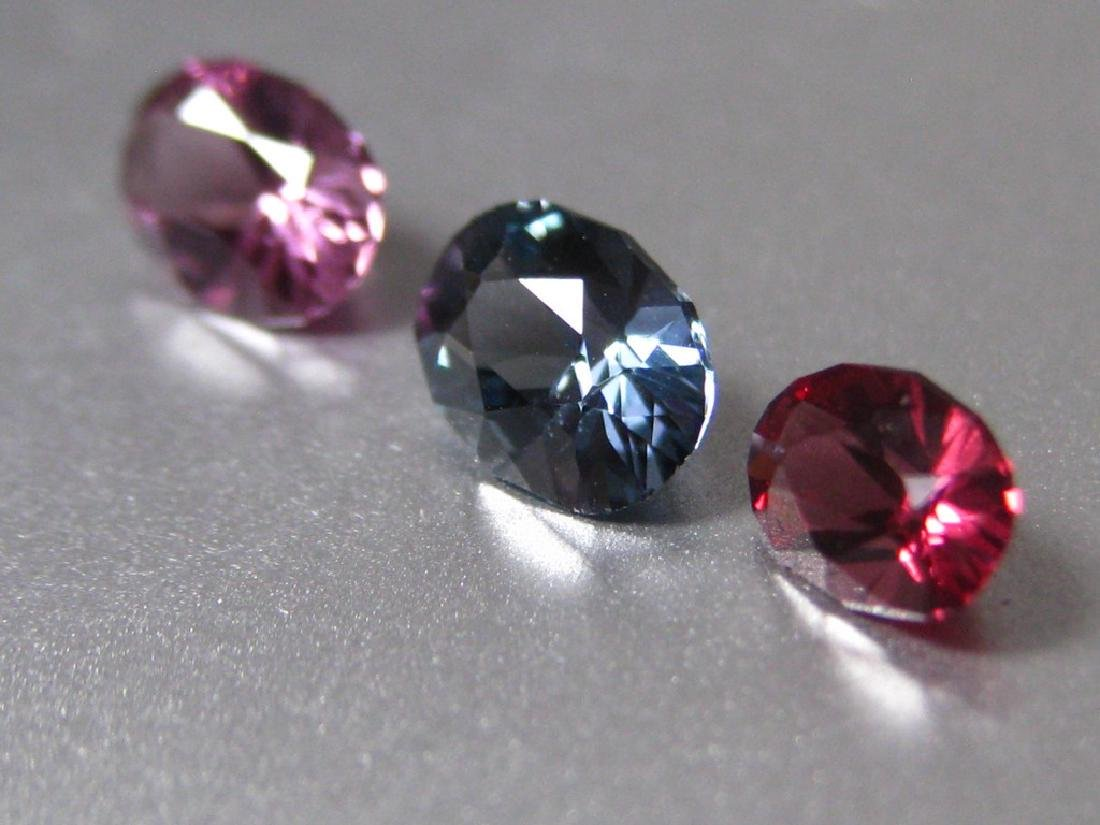 Lot Natural Spinel 3pc. - 2