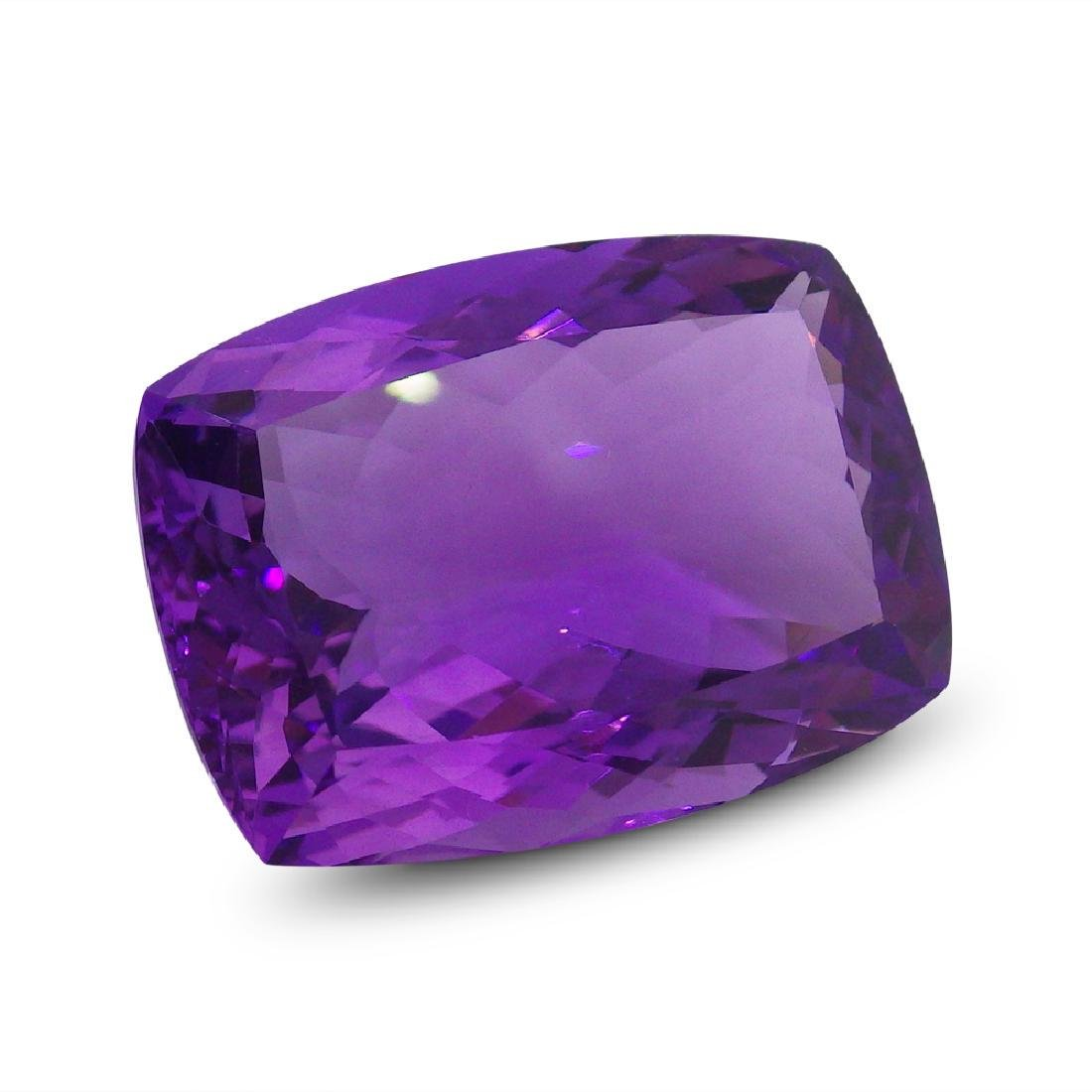 20.28 ct Rectangle Cushion Amethyst