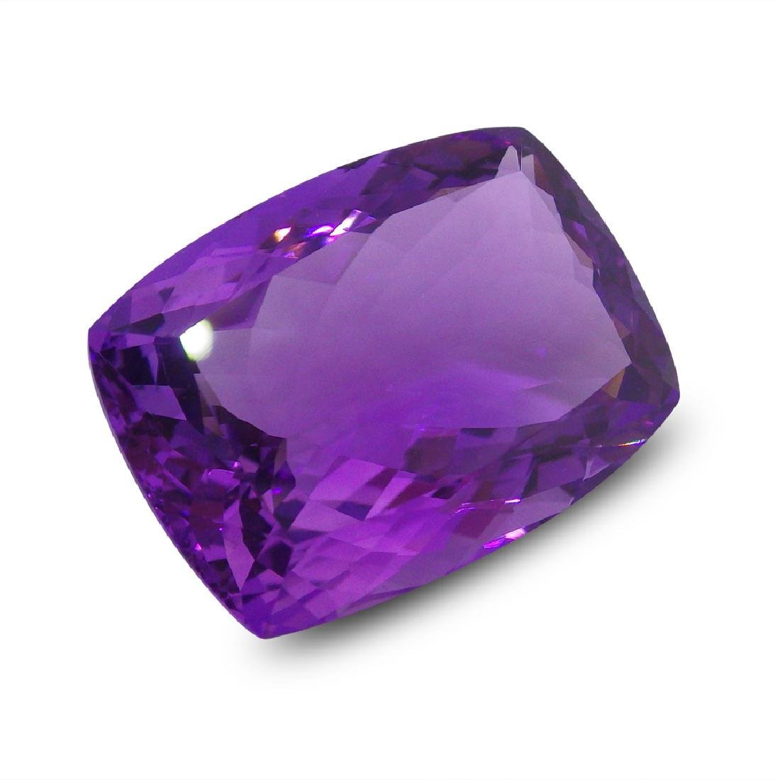 20.28 ct Rectangle Cushion Amethyst - 2